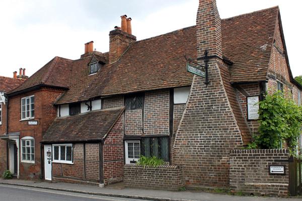John Milton house