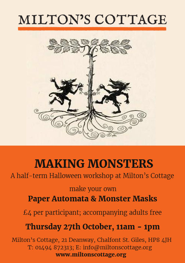 making-monsters-a4-poster